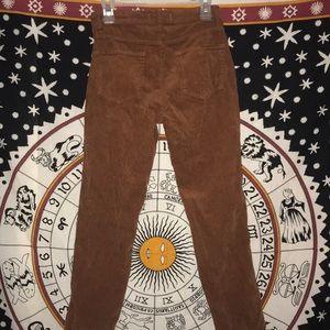 PacSun Pants - PacSun Burnt Orange Corduroy Pants w/ Button Fly